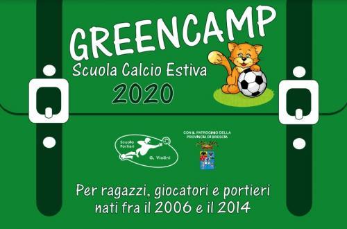 Greencamp - Scuola Calcio Estiva
